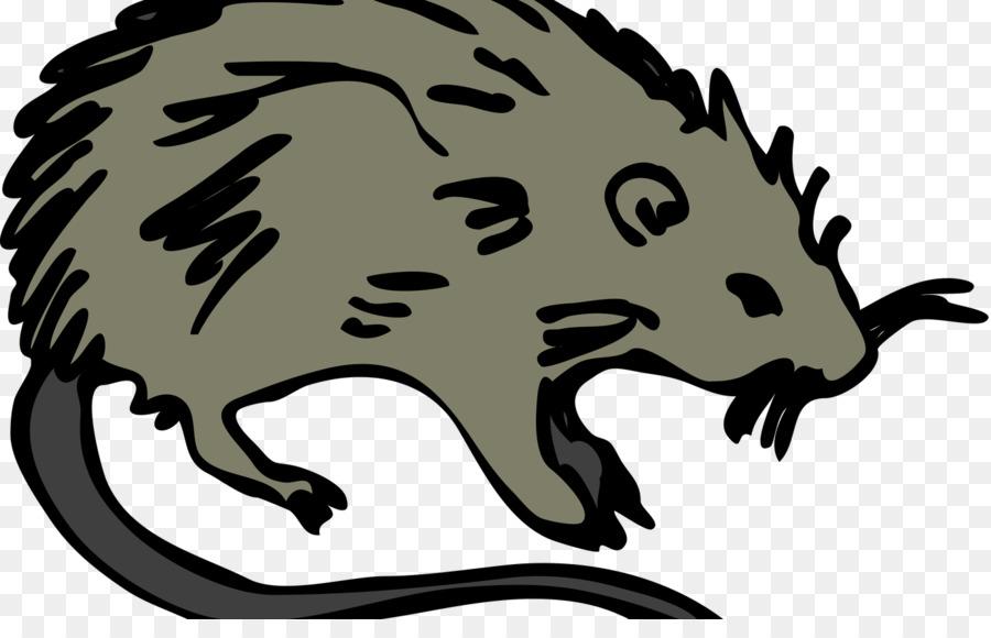 Rat clipart bubonic plague, Rat bubonic plague Transparent ...