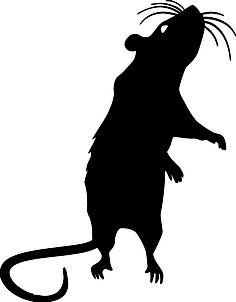 Cats bats and rats. Rat clipart spooky