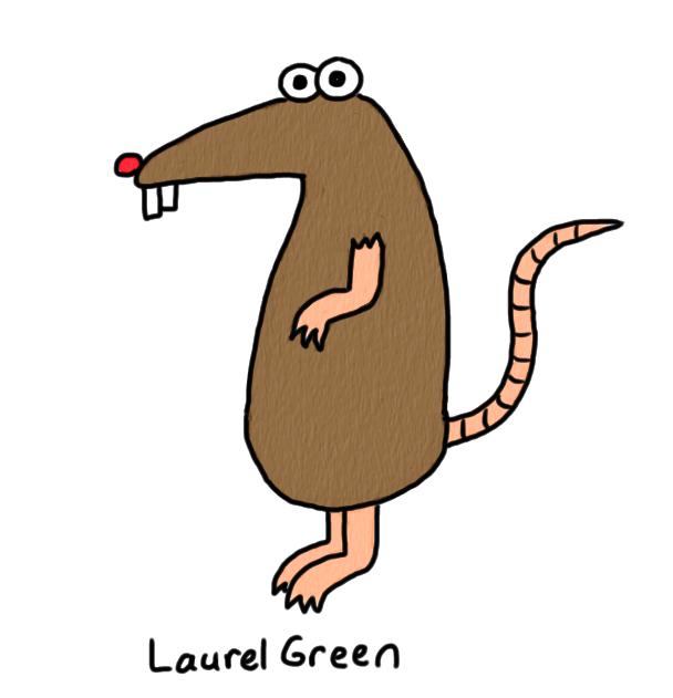 Rat clipart spooky. Doodle per diem
