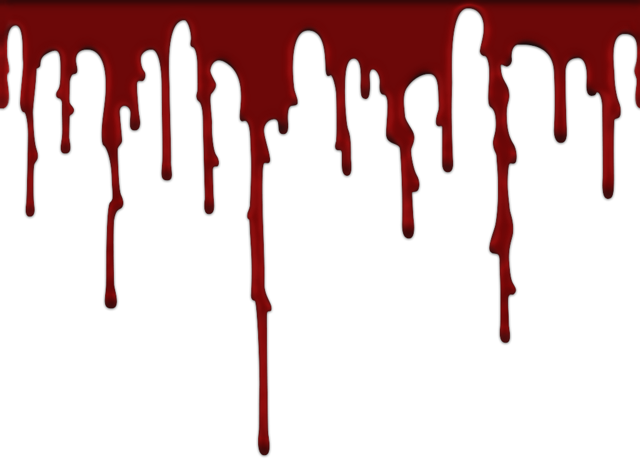 halloween library stock. Realistic blood drip png