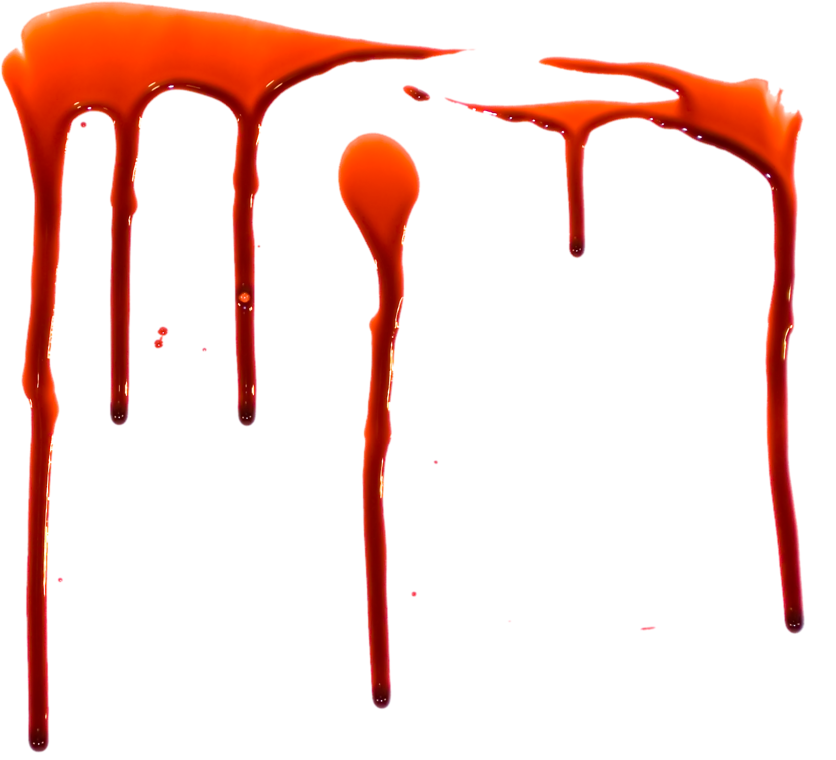Dripping transparent images pluspng. Realistic blood drip png