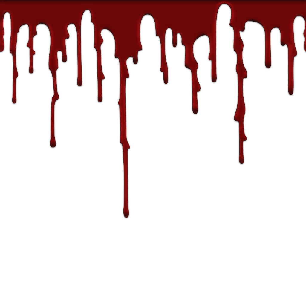 Transparent images pluspng image. Realistic blood dripping png