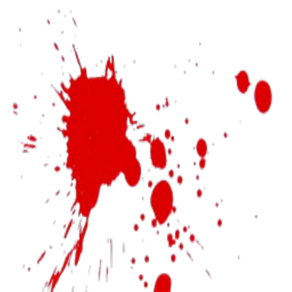 Splatter transparent roblox. Realistic blood dripping png