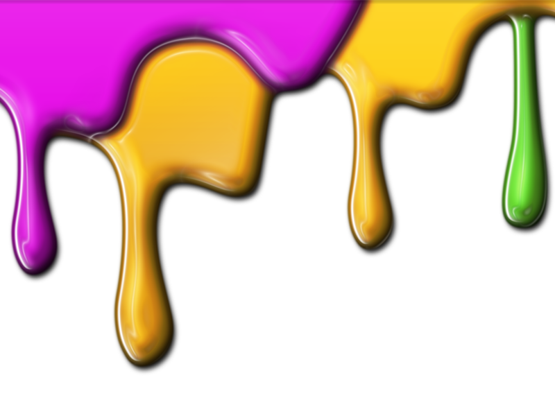 Realistic blood dripping png. Paint free stains and