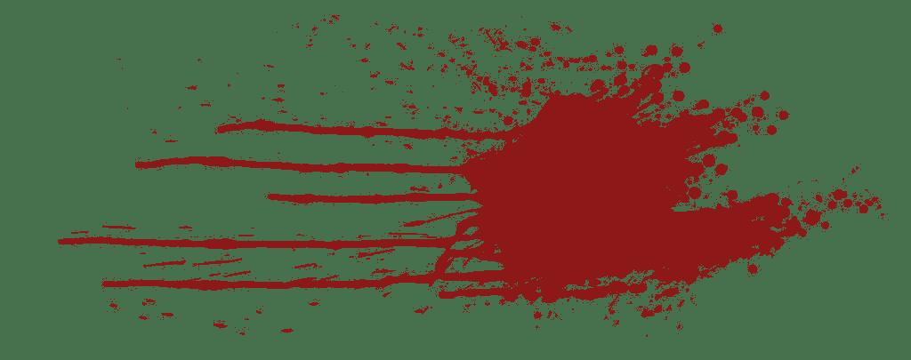 Realistic blood png. Splatter transparent