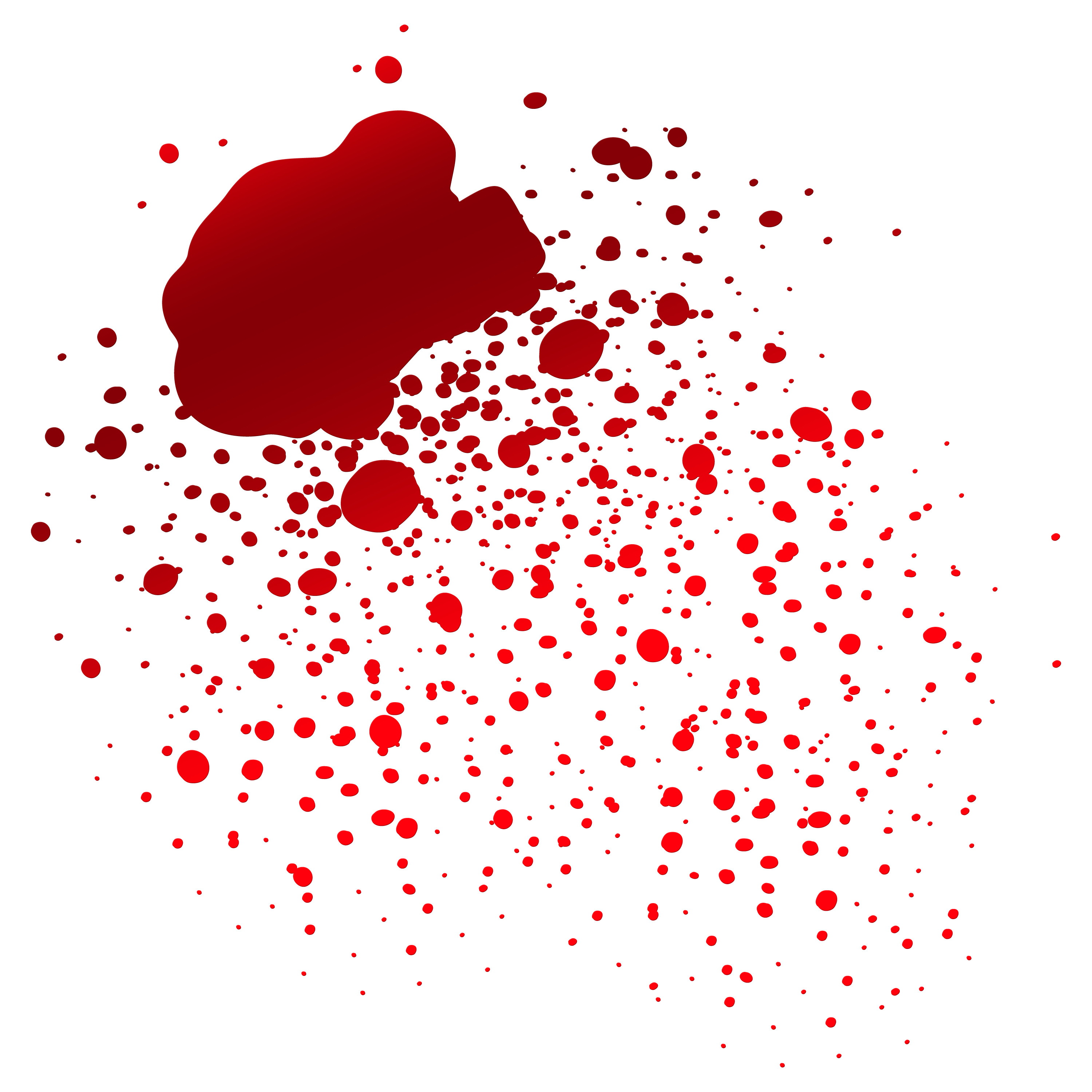 Download free transparent image. Realistic dripping blood png