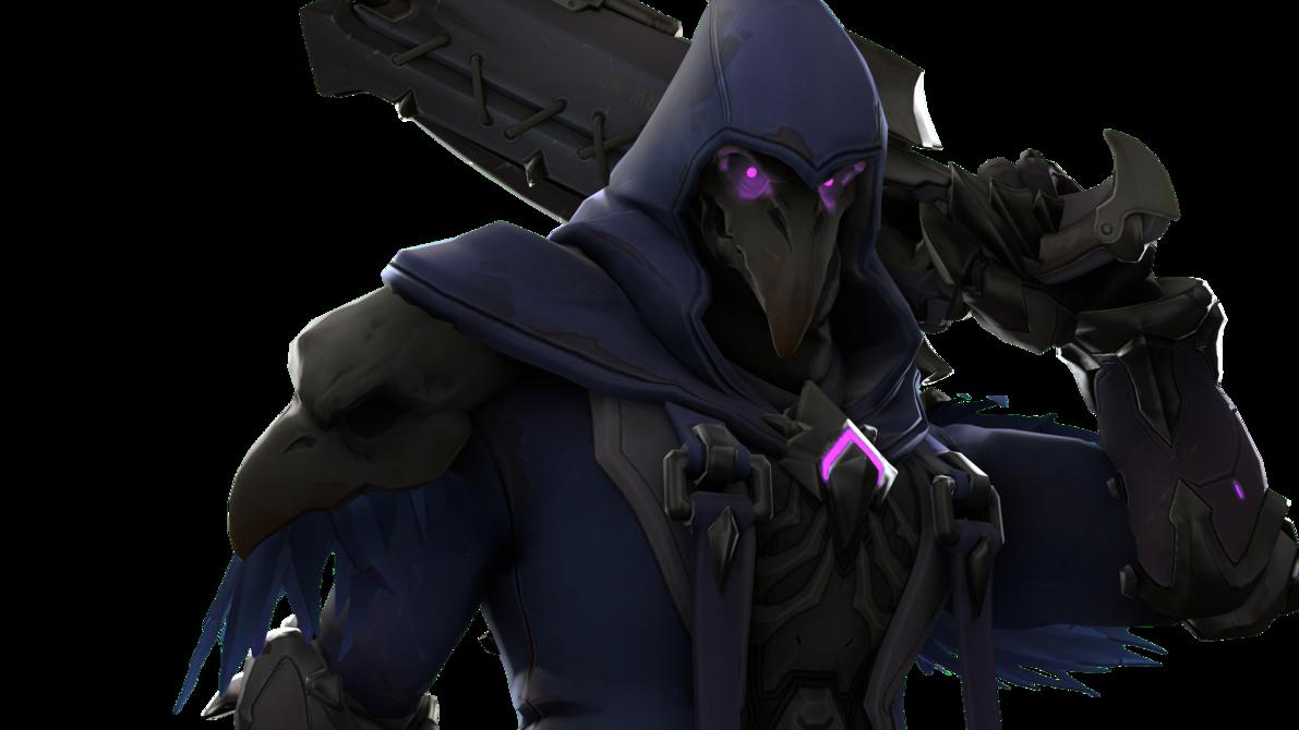 Reaper overwatch png. In k gun hand