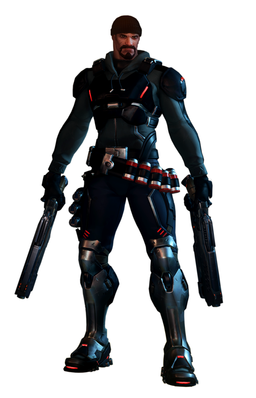 blackwatch reyes render. Reaper overwatch png