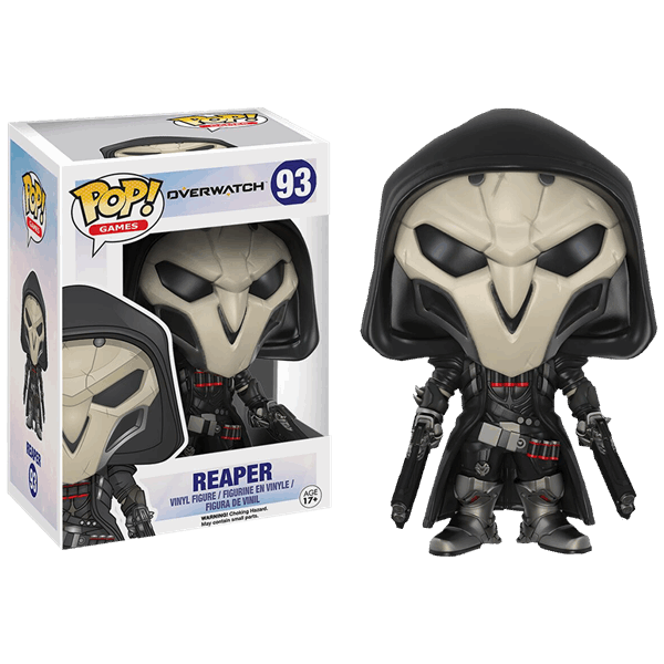 Reaper png overwatch. Pop vinyl figure eb