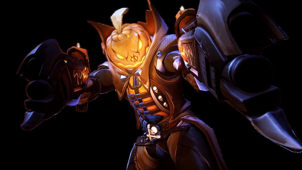 Reaper png overwatch. Pumpkin highlight render by