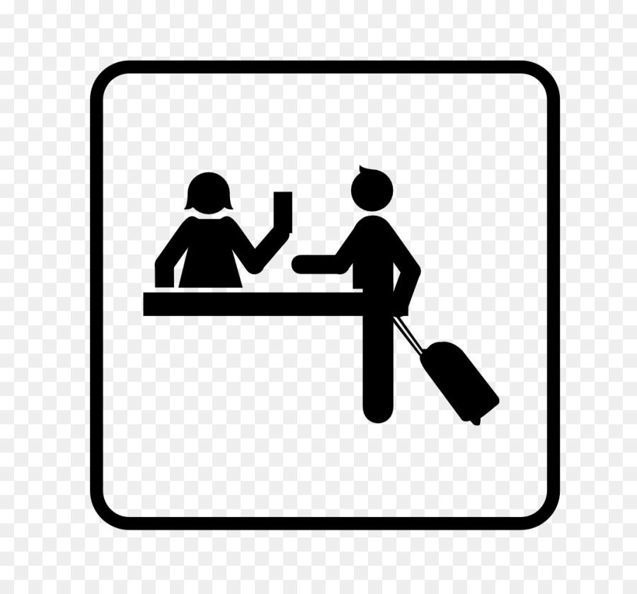 Hotel check in clip. Receptionist clipart