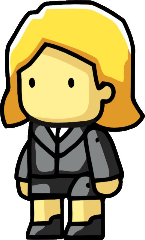 Secretary scribblenauts wiki fandom. Receptionist clipart admin assistant
