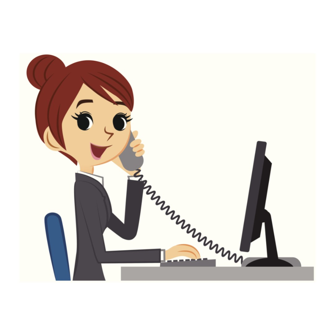 Receptionist clipart admin assistant. Jobs finance on