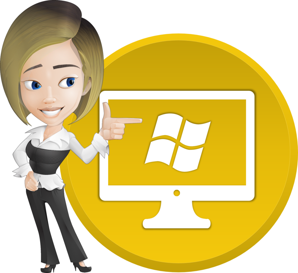 Microsoft software goodwill career. Receptionist clipart assistant manager