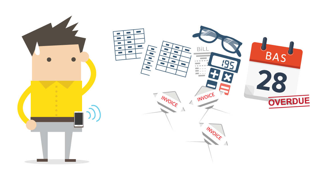 Receptionist clipart business admin. Support services for trade