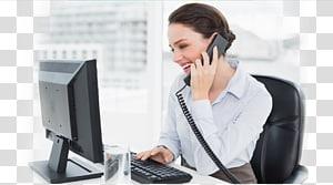 Receptionist clipart business admin. Virtual assistant administrative secretary