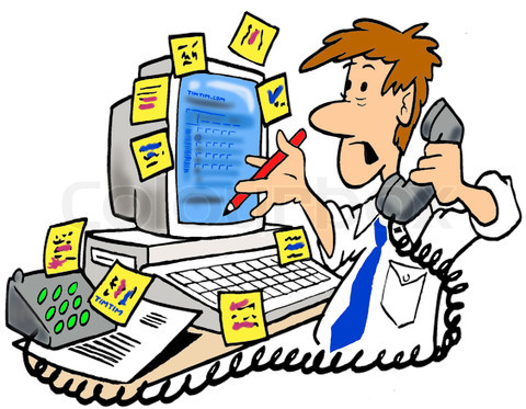 Secretary cliparts free download. Working clipart busy