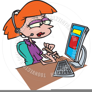 Hotel free images at. Receptionist clipart clip art