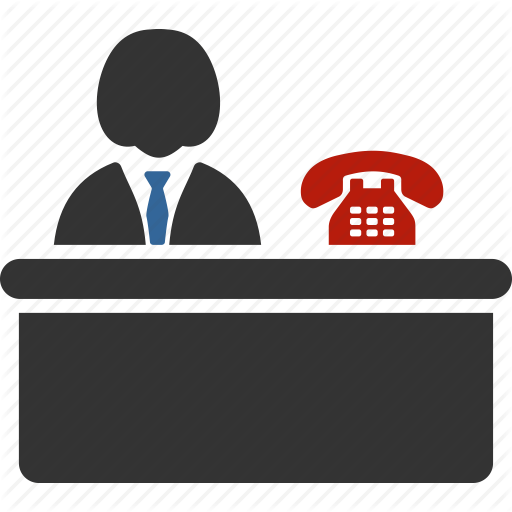 Receptionist clipart executive secretary. Look for jobs front