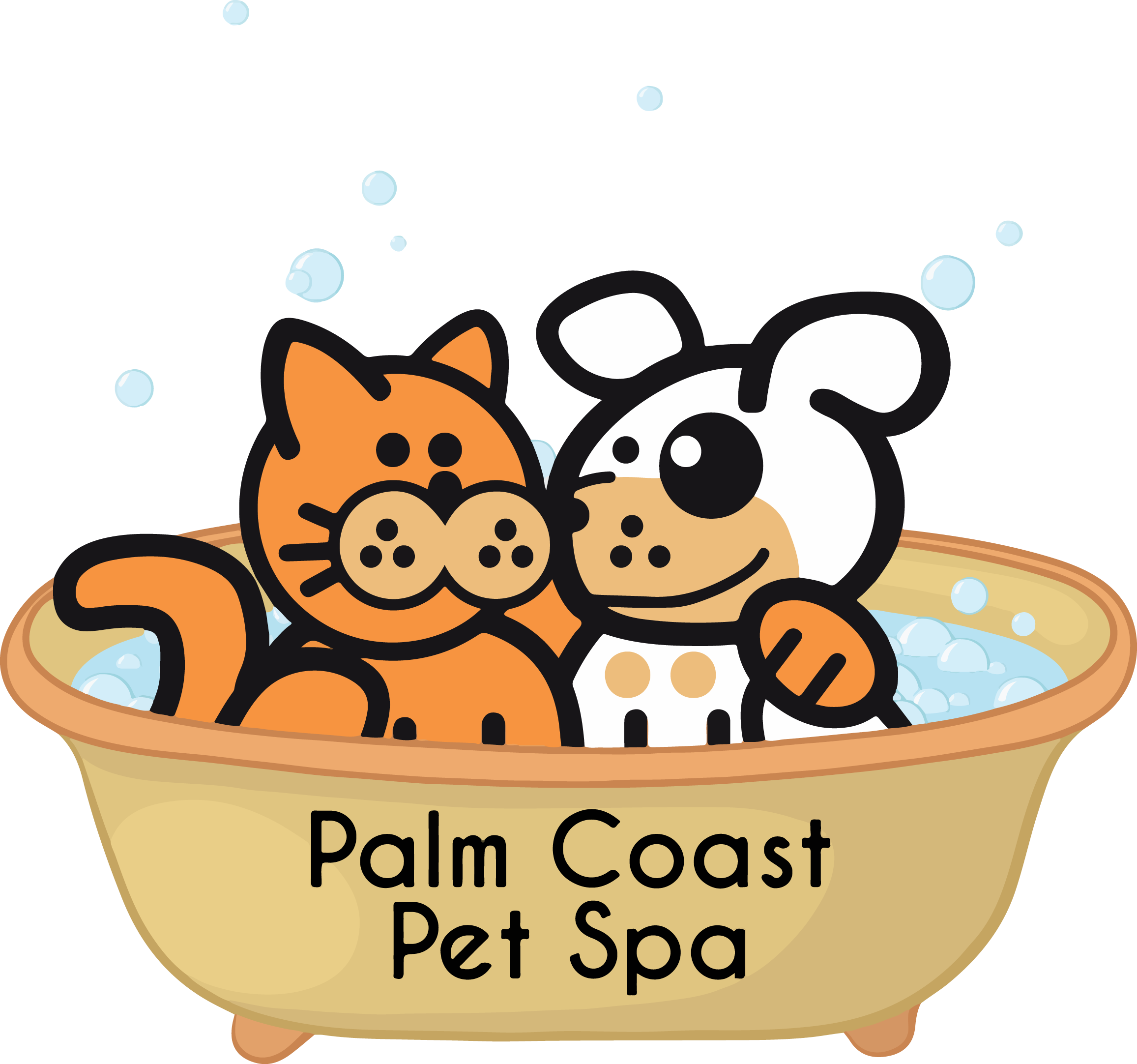 Palm coast pet spa. Schedule clipart hectic