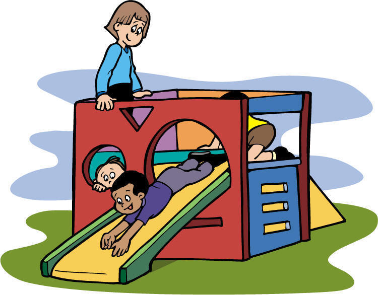 . Outside clipart school recess