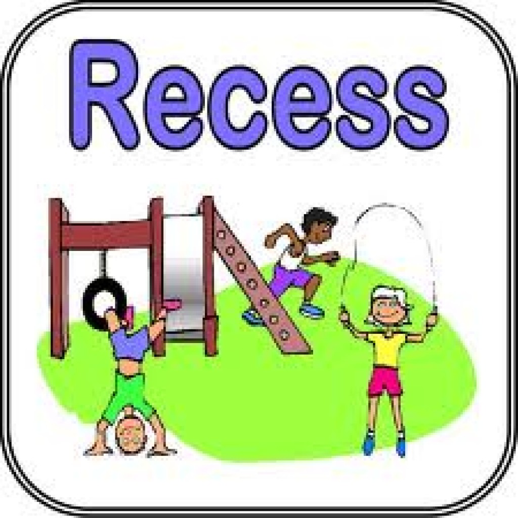 Kids playing at . Recess clipart
