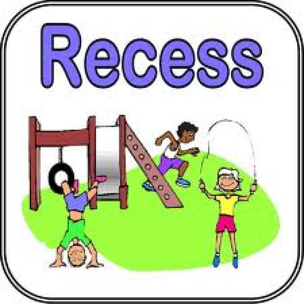 Kids playing at . Recess clipart