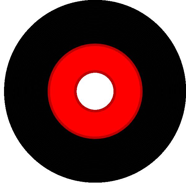 Black vinyl clip art. Record clipart