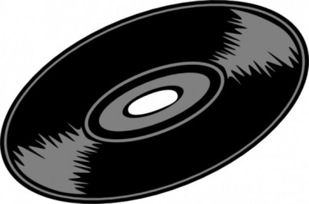 Record clipart. Music clip art panda