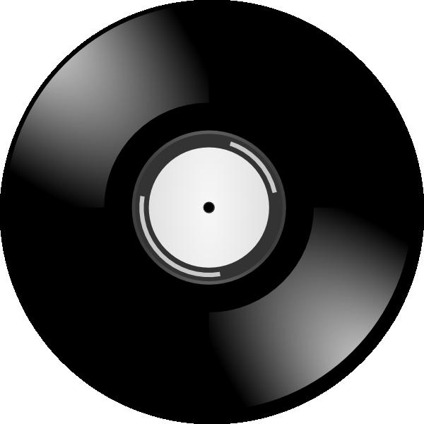 Record clipart 50's record. Clip art at clker