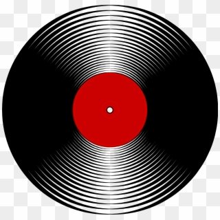 Record clipart 50's record. Vinyl png images free
