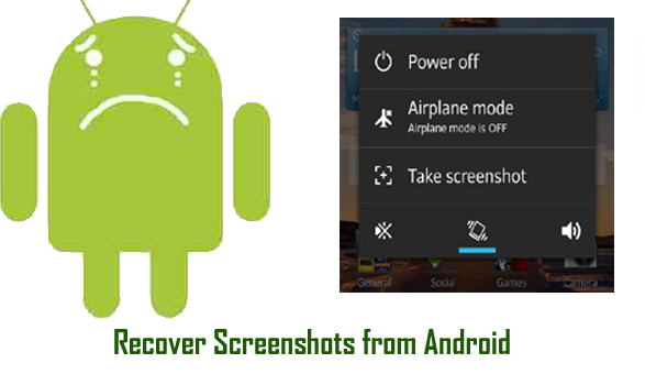Recover png files. How to deleted screenshots
