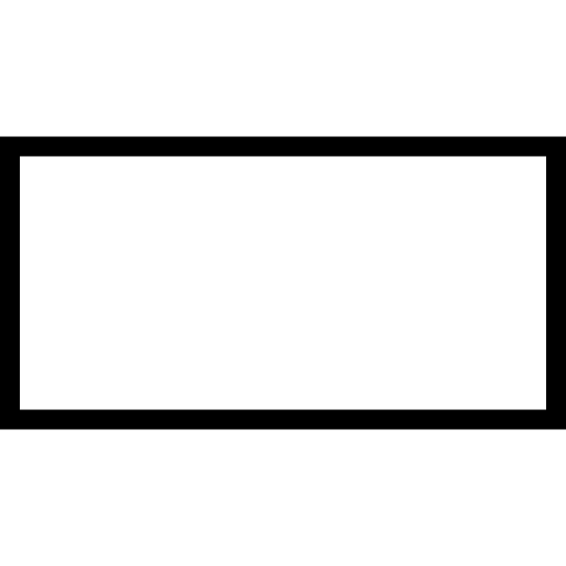 Rectangle border png.  transparent for free