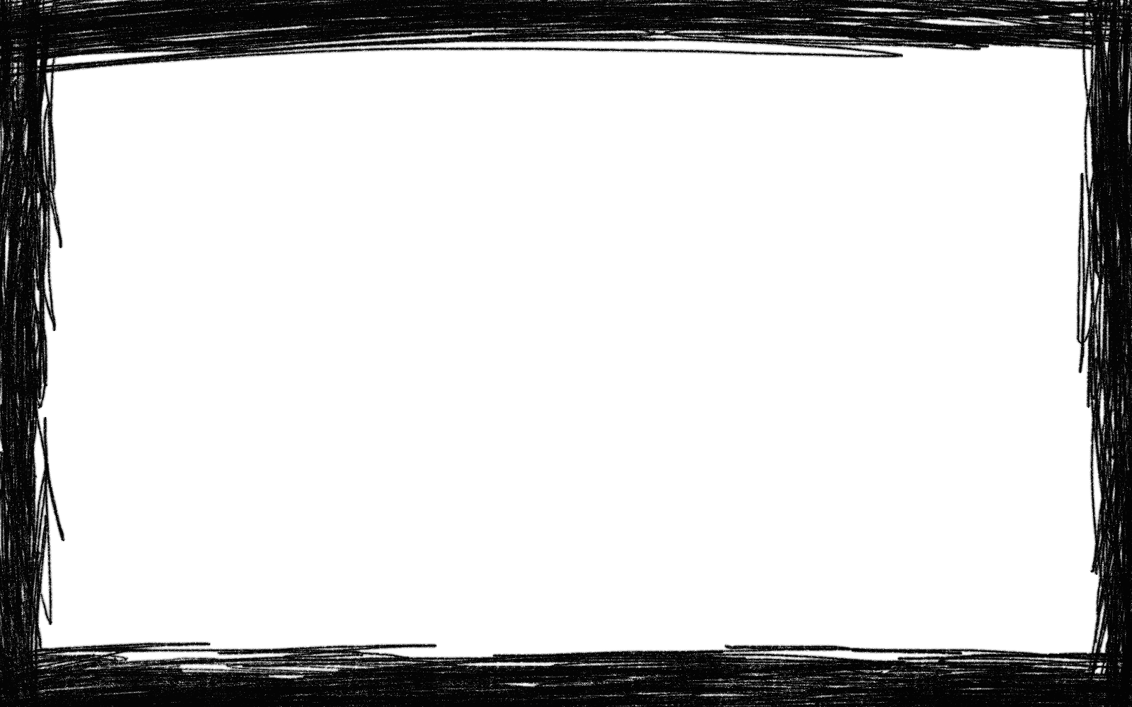 Rectangle frame png.  scribble transparent onlygfx