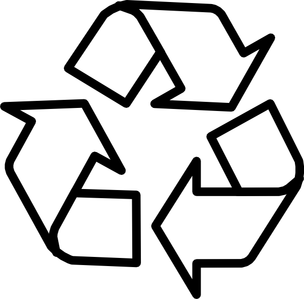 Free logos recycling symbol. Name clipart printable
