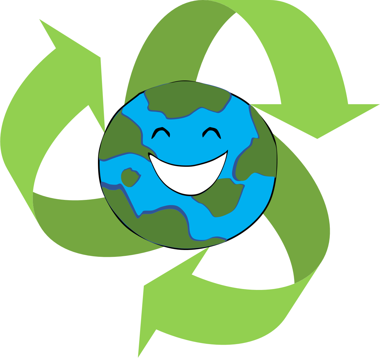 Reduce reuse recycle club. Snake clipart bmp