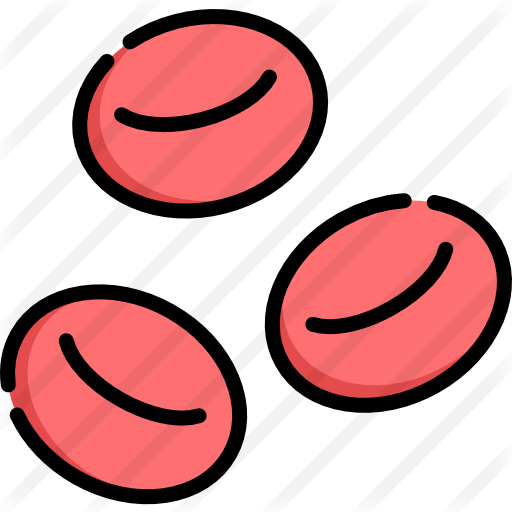 Free medical icons. Red blood cells png