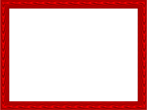 Red border png. Frame photos mart