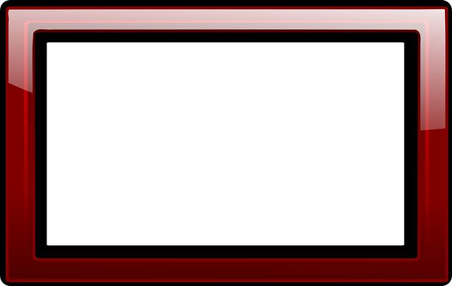 Red border png. Frame transparent mart
