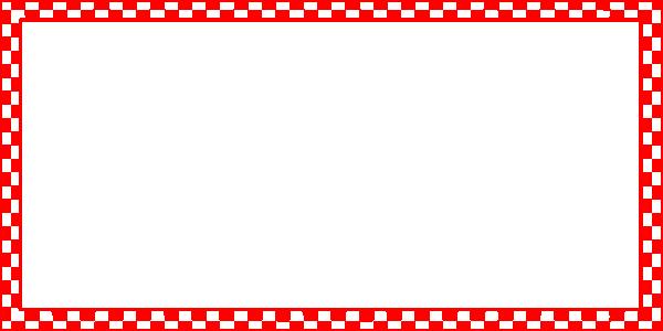 Checkered clip art at. Red border png