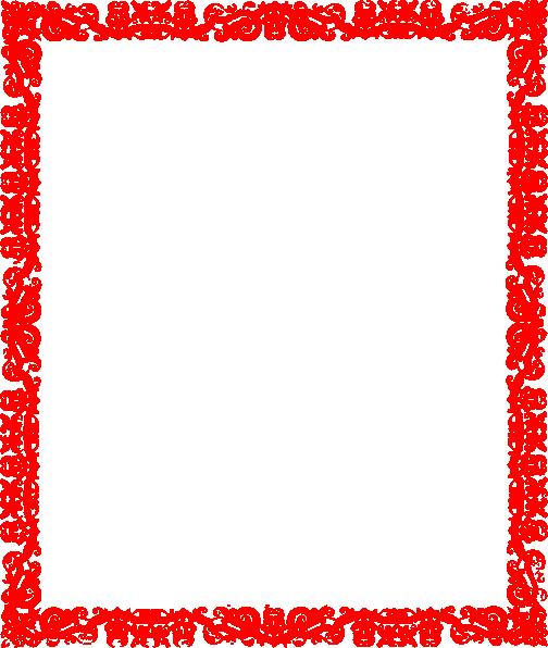 Red border png. Design clip art at