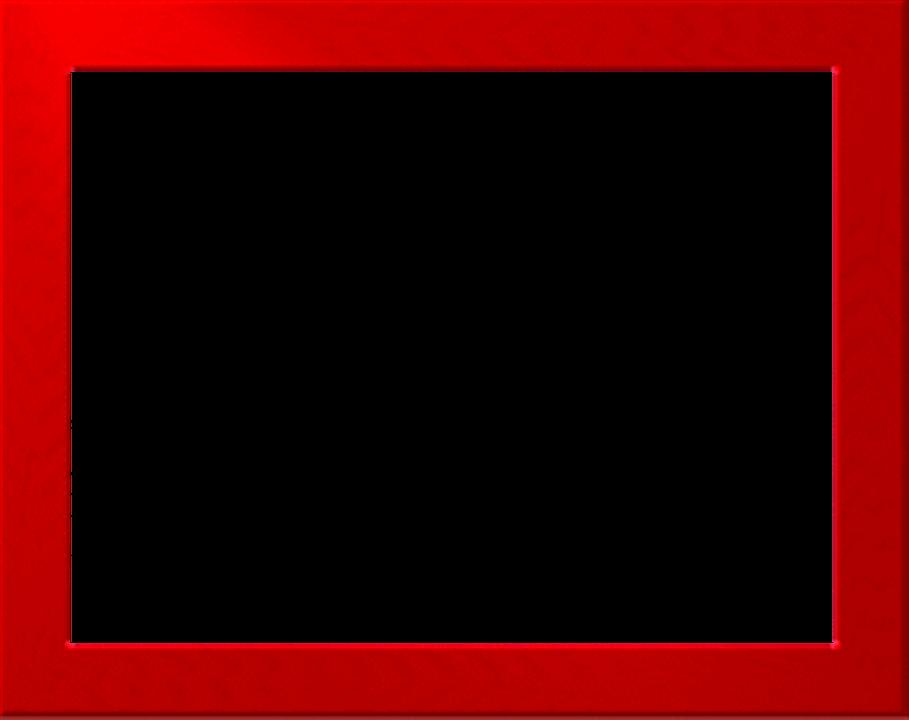 Red frame png. Border free download mart