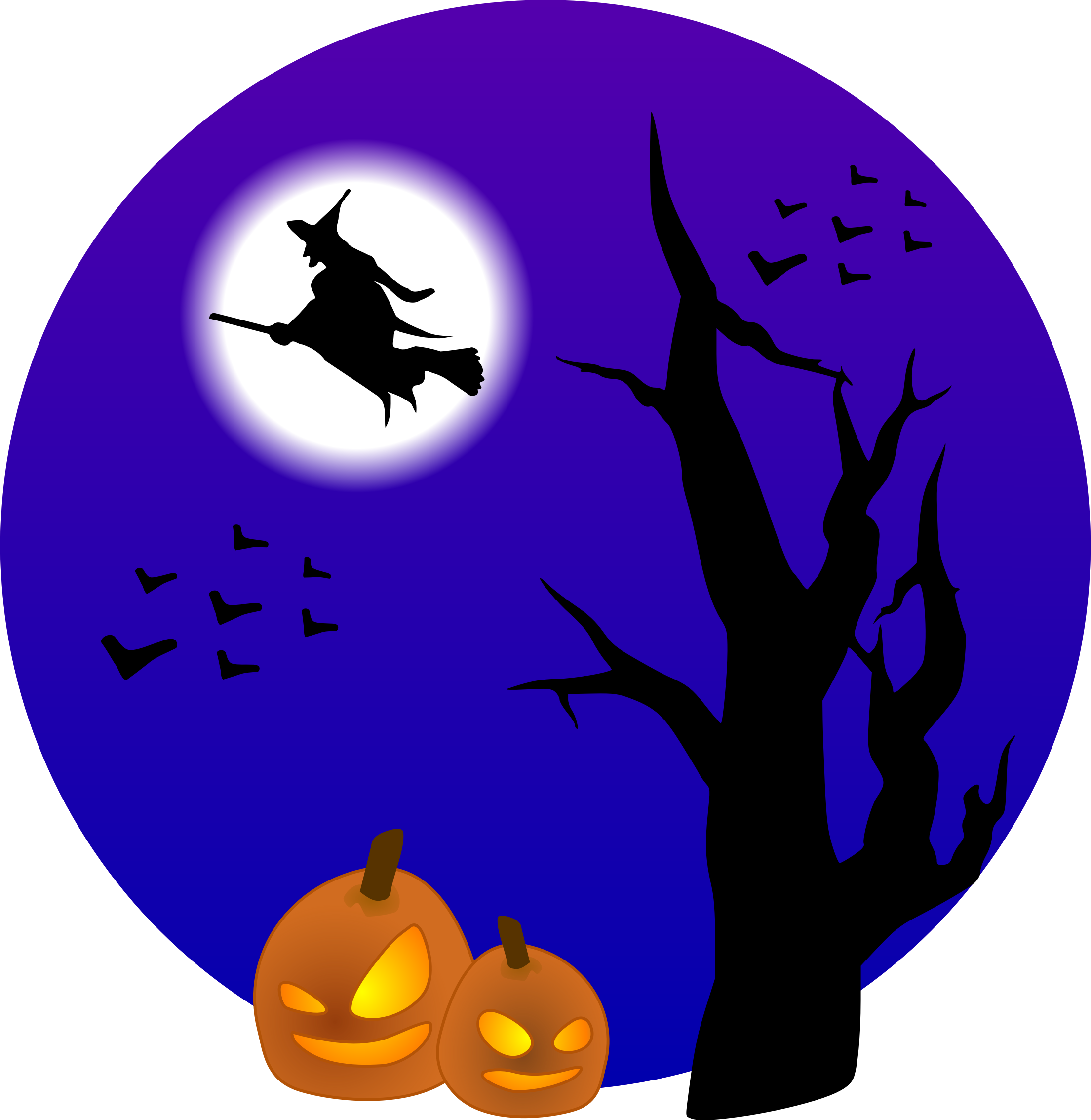 Witch clipart dancing. On broom icons png