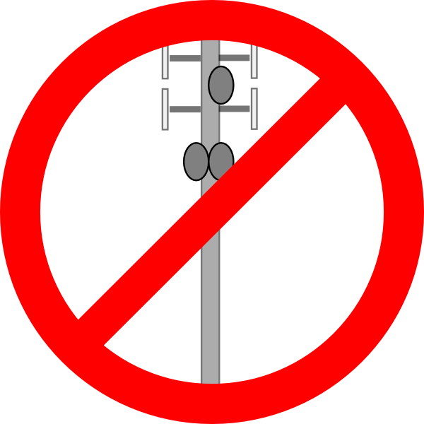 No cellular clip art. Tower clipart transmission line tower