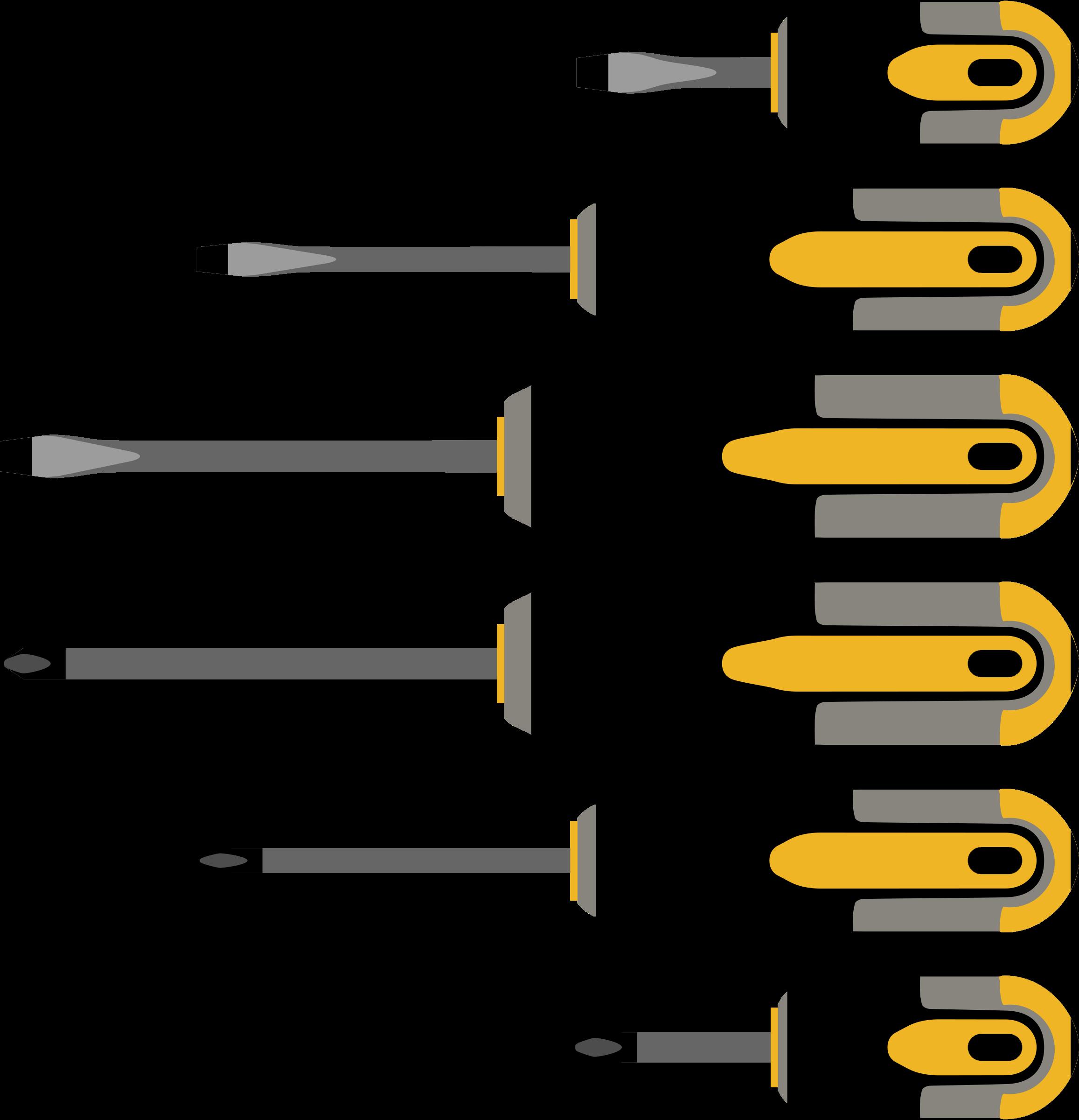 screwdriver clipart different