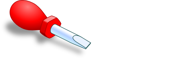 Clip art at clker. Screwdriver clipart red