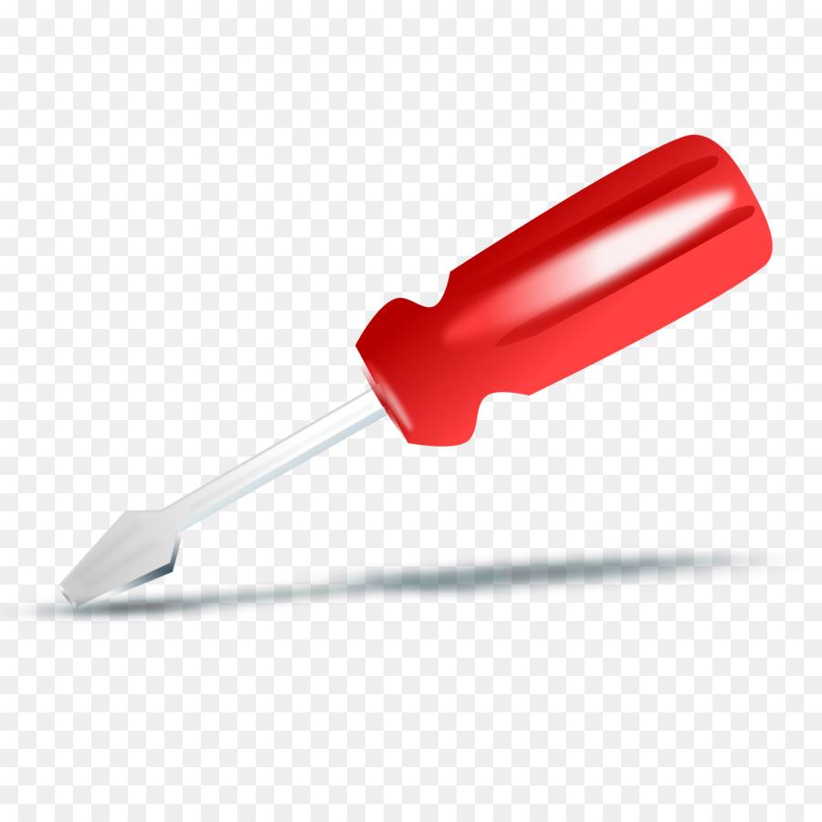 Screwdriver clipart red. Clip art