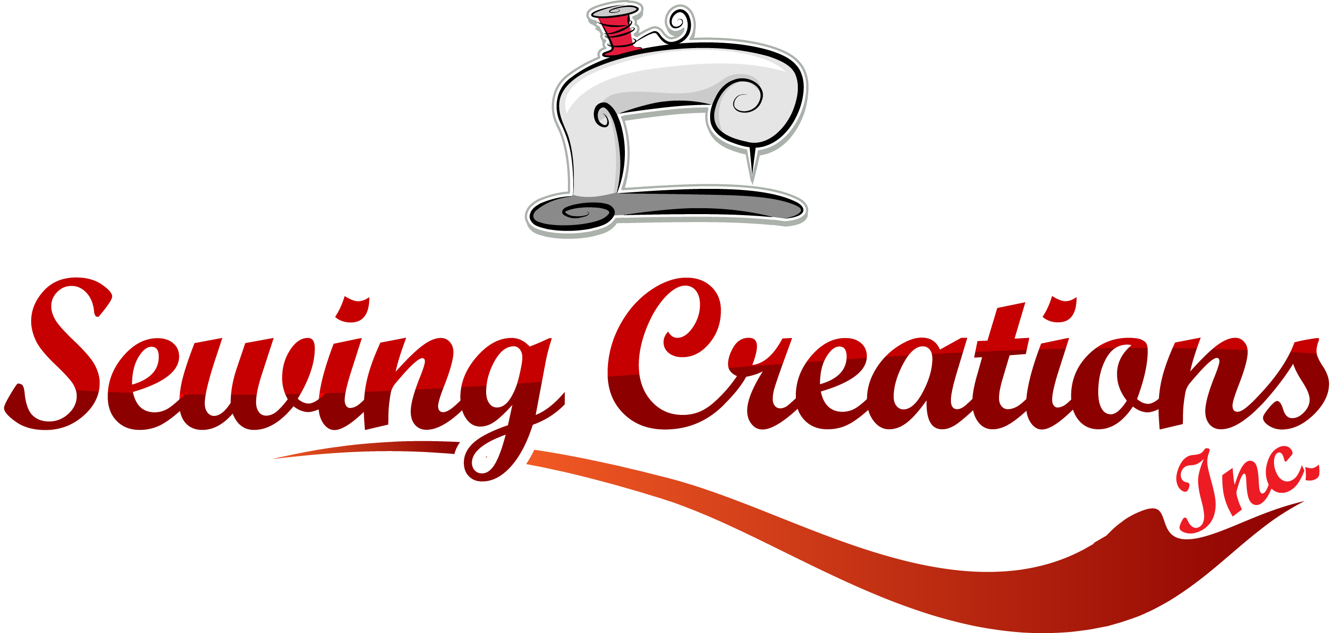 Sewing clipart sewing clothes. Machines site logo