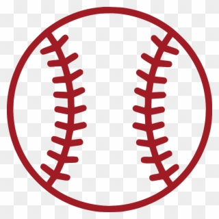 Softball clipart red. Free png clip art