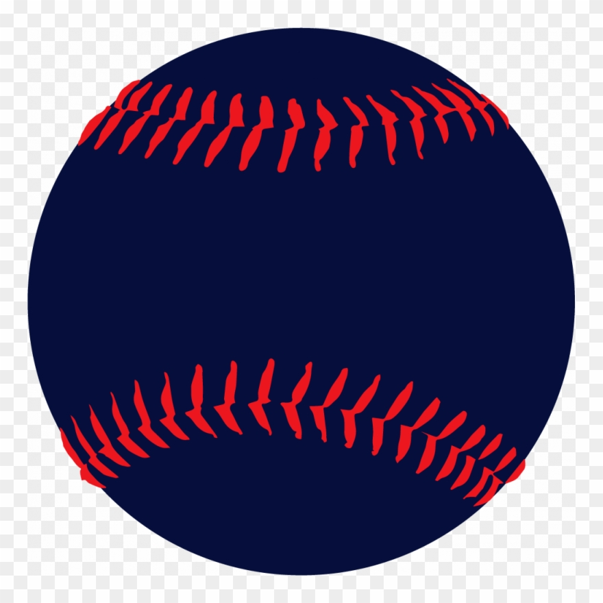 Free image white and. Softball clipart red